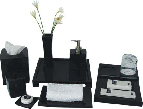 Bathroom amenity set ES7001-ES7008