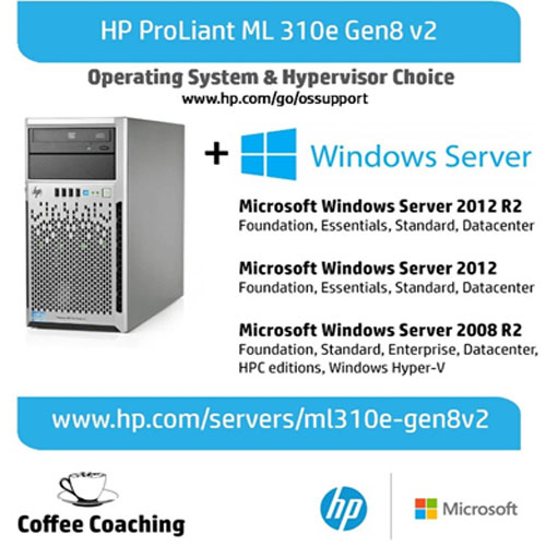 HP ML310e Gen8 Xeon E3