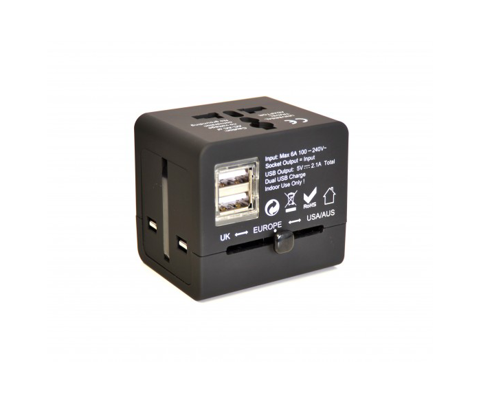 World Power Adaptor RTL-WTA-01