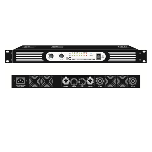 Class D Professional Stereo Power Amplifier D-200 D-350 D-700 D-1000 D-1200