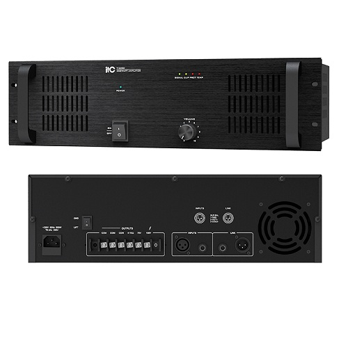 1 Channel Power Amplifier T-6350 T-6500 T-6650